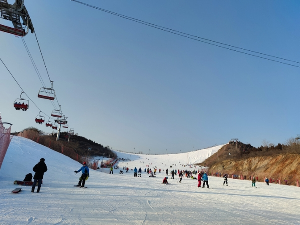 BJ: Ski Trip with YP  to Celebrate Chinese Spring Festival